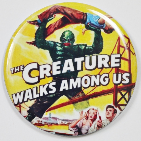 The Creature Walks Among Us Movie Poster Fridge Magnet