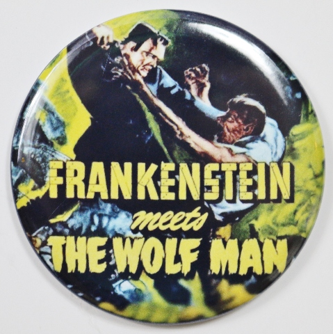 Frankenstein Meets The Wolfman Movie Poster Fridge Magnet