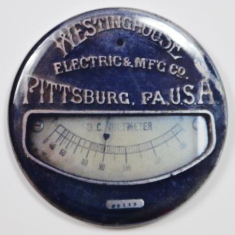 Westinghouse Pittsburgh Steampunk Gauge Fridge Magnet