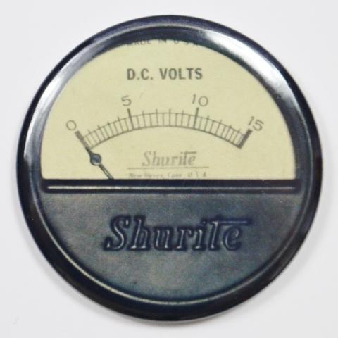 Shurite Steampunk Gauge FRIDGE MAGNET Meter Vintage Style 2 1/4 inches Round