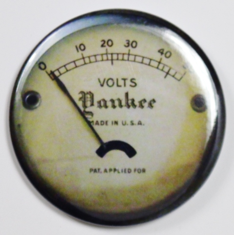 Yankee Steampunk Gauge Fridge Magnet Vintage Style Made In