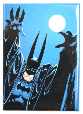 Batman Fridge Magnet Comic Book Dc Comics The Long