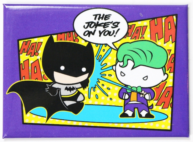 Harry Green Chevy >> Chibi Batman and Joker FRIDGE MAGNET Comic Book DC Comics ...