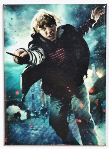 Harry Potter Ron Weasley Fridge Magnet Deathly Hollows