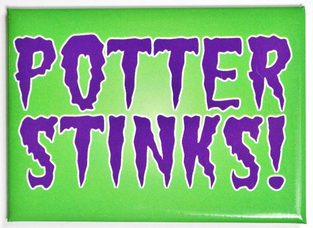 Harry Potter Stinks Gryffindor Fridge Magnet Wizard Muggle