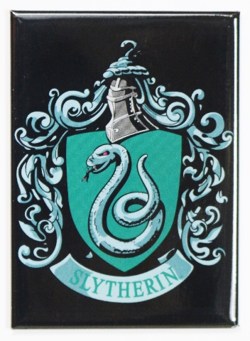 Harry Potter Slytherin Fridge Magnet Wizard Muggle