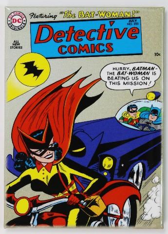 Batman Robin Bat Woman FRIDGE MAGNET DC Comics Batmobile