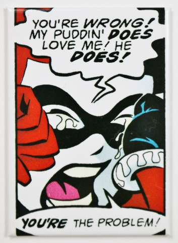 Harley Quinn Joker FRIDGE MAGNET DC Comics Suicide Squad Batman Robin