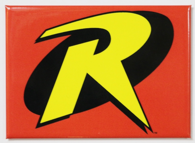 Robin Logo FRIDGE MAGNET DC Comics Batman Animated Series