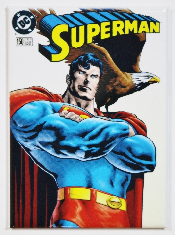 Superman DC Comics Issue 150 FRIDGE MAGNET Justice League