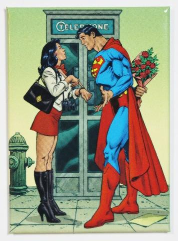 Superman and Lois Lane FRIDGE MAGNET Clark Kent Justice League