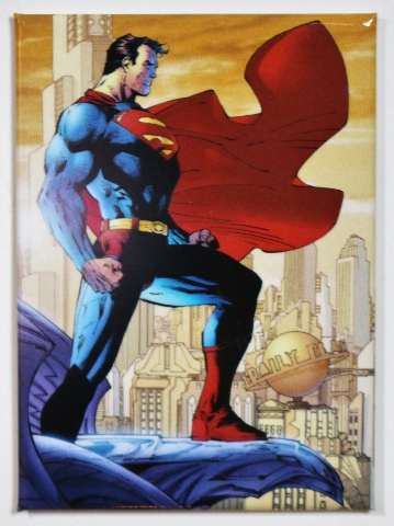 Superman Man Of Steel Daily Planet Fridge Magnet Clark