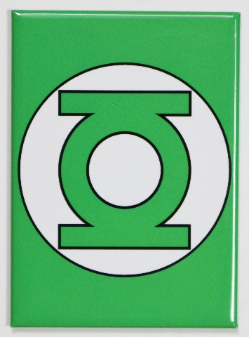The Green Lantern Logo Fridge Magnet Justice League Dc