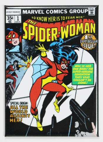 The Spider Woman 1 Fridge Magnet Marvel Comics Spiderman