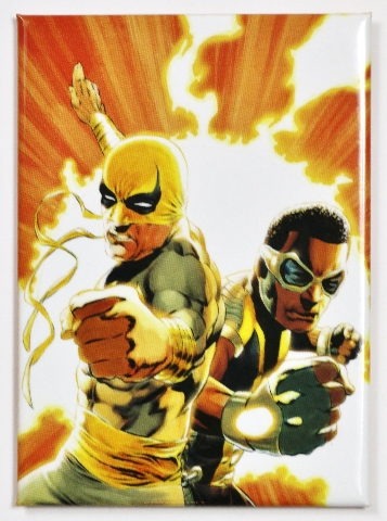 Power Man And Iron Fist Fridge Magnet Marvel Comics Luke Cage