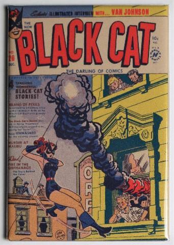 Black Cat Comic Book #26 Cover FRIDGE MAGNET Harvey Comics