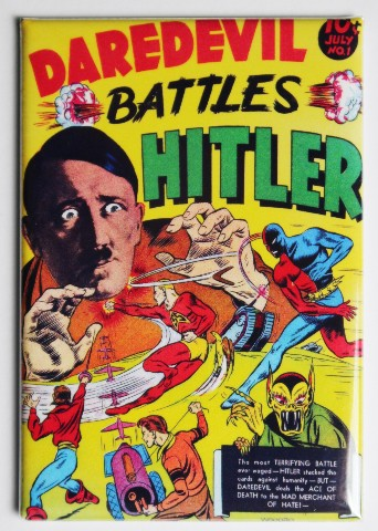 Daredevil Battles Hitler Fridge Magnet Image Comics Comic