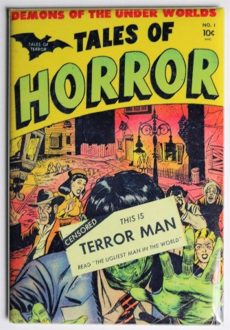 tales of horror no 1 terror man fridge magnet monster