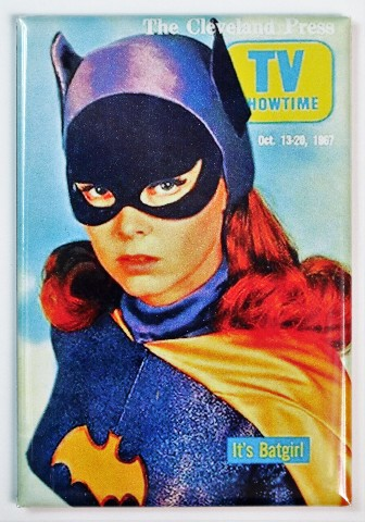 The Cleveland Press Batgirl Fridge Magnet Batman Adam Wesy