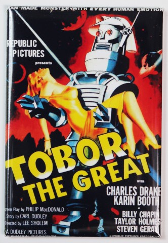 Tobor The Great Fridge Magnet 1950s Sci Fi B Flick