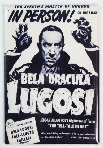 Universal Monsters Bela Lugosi Dracula Poster FRIDGE MAGNET Halloween Vampire