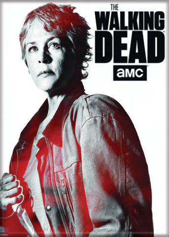 The Walking Dead Carol Peletier Fridge Magnet Rick Grimes
