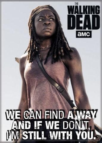The Walking Dead Michonne FRIDGE MAGNET Negan Glenn Rhee Rick Grimes
