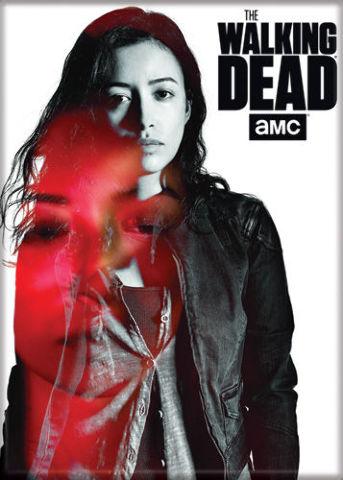 The Walking Dead Rosita Espinosa FRIDGE MAGNET Abraham Ford Rick Grimes Negan