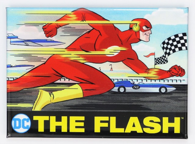 The Flash FRIDGE MAGNET Justice League Batman Superman DC Comics Comic Superhero