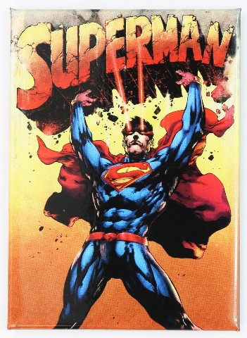 superman fridge magnet dc comics justice league clark kent