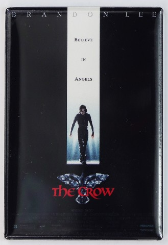 The Crow Movie Poster FRIDGE MAGNET Brandon Lee 1990s Comic Book