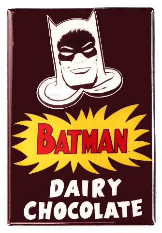 Batman Dairy Chocolate FRIDGE MAGNET DC Comics Vintage AD Comic Book