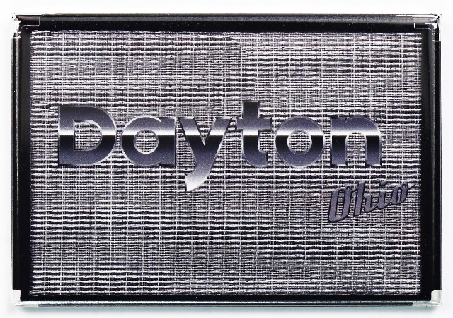 Dayton Ohio Fender Amp Fridge Magnet Guitar Bass Amplifier