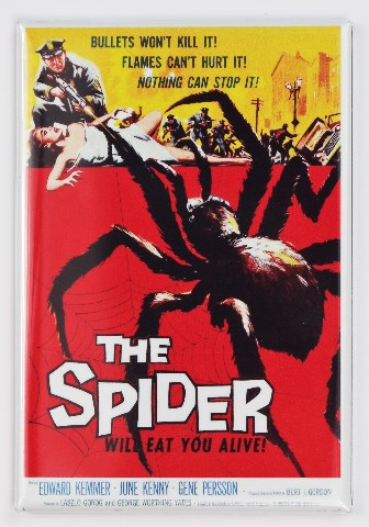 The Spider Movie Poster Fridge Magnet 1950s Sci Fi Monster