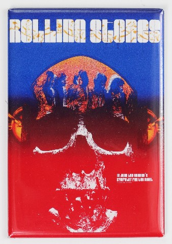 Rolling Stones Sympathy For The Devil Movie Poster FRIDGE MAGNET Gig Poster Mick Jagger