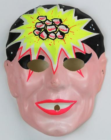 Vintage Lazar Man Halloween Mask Super Hero 1960 S Laser