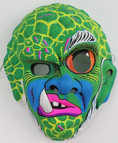 Vintage Monster Halloween Mask Snaggletooth Beast Hills