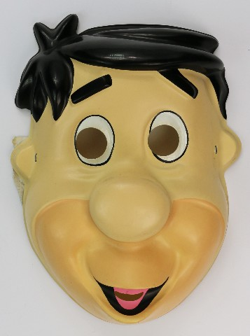 Vintage Fred Flintstone Halloween Mask The Flintstones