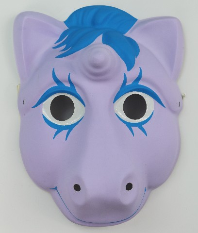 Dick Beard Chevrolet >> Vintage My Little Pony Halloween Mask Hasbro 1986 Unicorn 80's 1980s