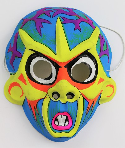 Vintage Vampire Halloween Mask Monster Zombie Rodent Rat
