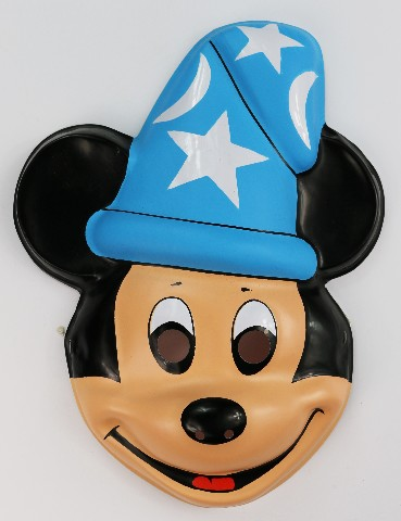 Dick Beard Chevrolet >> Vintage Walt Disney Mickey Mouse Fantasia Halloween Mask Ben Cooper Costumes Wizard