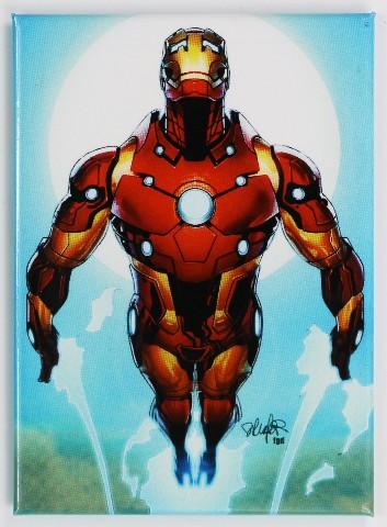 Iron Man FRIDGE MAGNET The Avengers Stark Marvel Comics Comic Book
