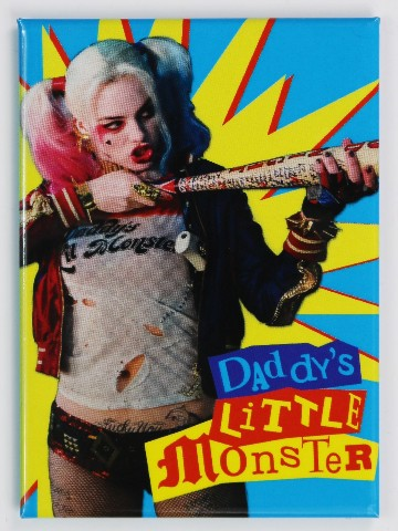 Hyde Park Pittsburgh >> Harley Quinn Daddys Little Monster FRIDGE MAGNET Batman ...