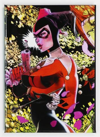 Harley Quinn Fridge Magnet Batman Animated Series Joker