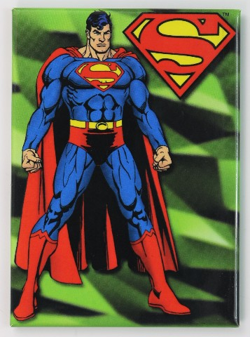 Superman Fridge Magnet Clark Kent Dc Comics Comic Book