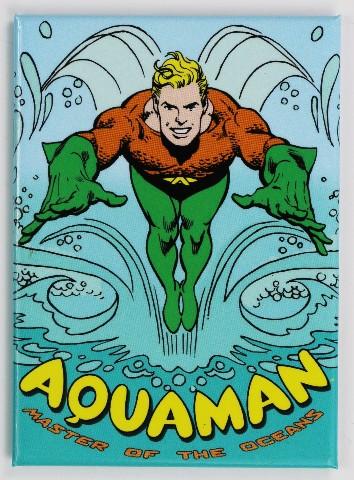 Aquaman Fridge Magnet Justice League Dc Comics Comic Book
