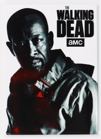 The Walking Dead Morgan Jones Fridge Magnet Rick Grimes