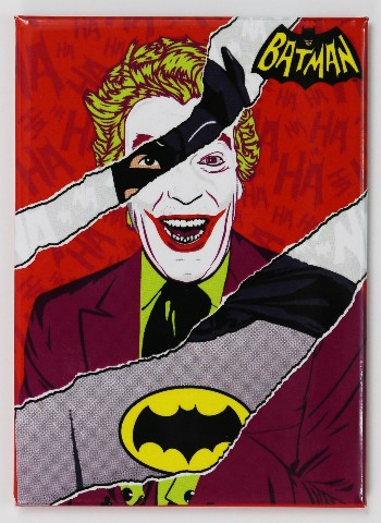 The Joker Batman FRIDGE MAGNET Adam West DC Comics Cesar Romero