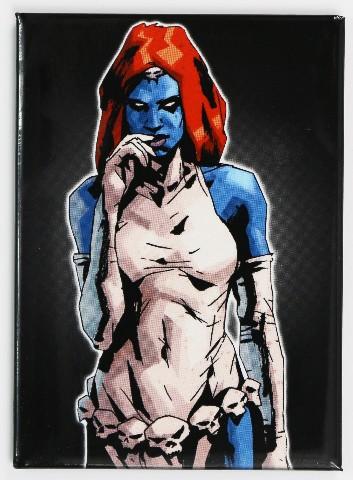 X-Men Mystique FRIDGE MAGNET Marvel Comics X Men Comic Book Magneto