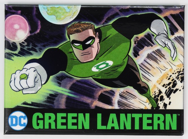 The Green Lantern Fridge Magnet Justice League Dc Comics